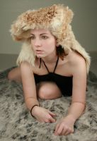 Woman in Fur IV by IQuitCountingStock