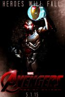 AVENGERS: AGE OF ULTRON Movie Poster [Fan-Made] by TheDarkRinnegan