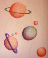 Planets by Ombreuse
