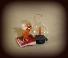 The mouse and the flame by Fairiesworkshop