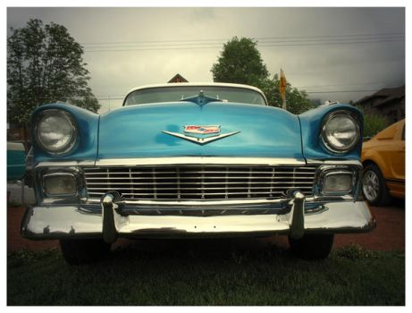 1956 Chevy Belair 2 by prey-for-the-weekend