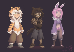 FERUS GAME's Characters #1 by SorceressDream