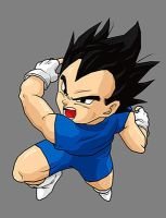 Vegeta Jr - version 2 by dbzataricommunity