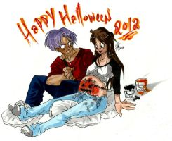 10 Years/Halloween 2012 by Swamnanthas