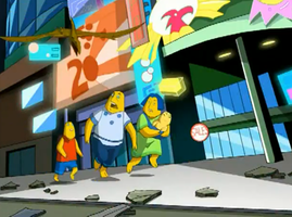 The Simpsons in TMNT Fast Forward??????? by Ariez-the-Wolf