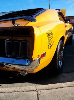 1970 Mustang Twister clone by DetroitDemigod