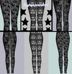 LEGGINGS! preorders now open! CLOSING MONDAY! by cryptosilver