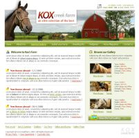 KoxCreek Farm - Website by t4m3r