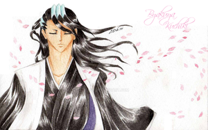 + Aquarelle Byakuya + by Lili-ve