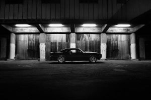 American in the dark by 0ls