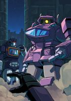 shockwave and soundwave by GreenWild