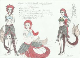 Misuke The Black Footed Lionfish Mermaid by Loopy-Lass