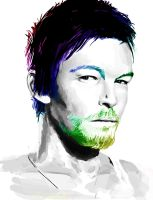 norman reedus by kimchiiWOOt