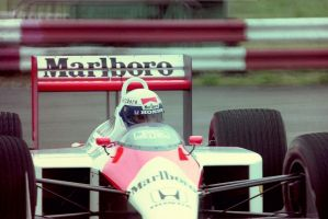 Alain Prost (Great Britain Tyre Test 1988) by F1-history