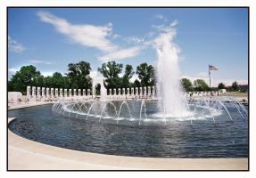 WWII Memorial by Captain-Planet