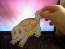 Squirtle Paperchild by anime-manga-freak1