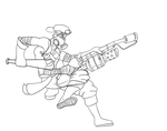 TF2 Scout/ Pyro Fusion WIP by TFP-Ratchet123