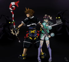 X-Over: Zapps in Kingdom Hearts by Hieis-Wolf-Girl