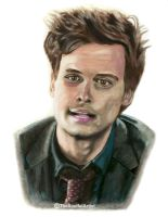 Spencer Reid by thesoulfulartist