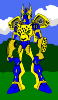 Another Cheetor by phantomhunter