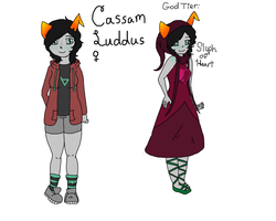 Cassam Luddus Ref sheet by Toxic-Lullabies