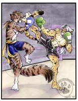 Kick Boxing Commission II by lady-cybercat