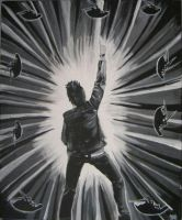 Jacoby Shaddix Painting by Paparoachie