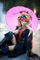 Hizaki_umbrella by Watarielle