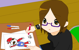 Yes, I'm drawing... by animelover1030