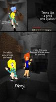 Minecraft Comic: United Miners Page 3 (1/2) by TigerLily45