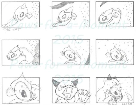 Storyboard - The Hunt by Paws-for-a-Moment