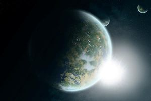 First Planet by Benvaulter