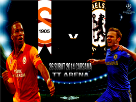Galatasaray Vs Chelsea by ANILDD11