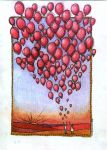99 red balloon by UpadanaSaddha
