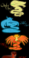 Secret of the Clow: Elementals by ShadowDemon101
