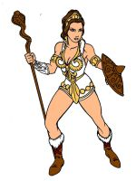 Teela the warrior woman by danbrenus