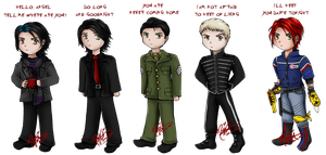 Chibi Gerard Way by SassyLilPanda