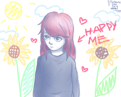 Happy me by KatrineIcy