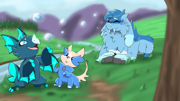 Blow Bubbles: Phase Two by EnamoredGhost