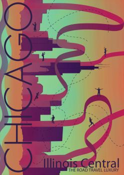 chicago poster by tinec