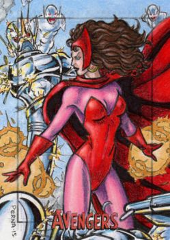 Scarlet Witch - Avengers Silver Age by tonyperna
