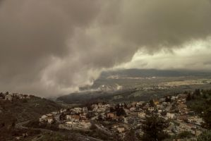 Clouds on the town by ShlomitMessica