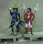 NYAF: Samurai on BENCHES by burloire