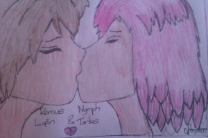 Lupin and Tonks by ceri1306