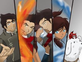 Team Korra by KitsxChan
