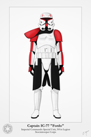Captain Fordo - Stormtrooper by Artifician
