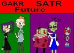 GAKR and SATR Future by invderzimfannumber1
