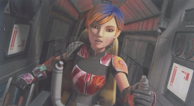 Speed Challenge 03: Sabine Pilots The Phantom by Starfire-Productions