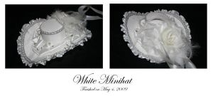 White Minihat by A-Little-White-Lie