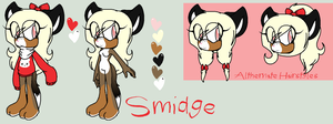 NC: Smidge Reference by XPsychotic-Nightmare
